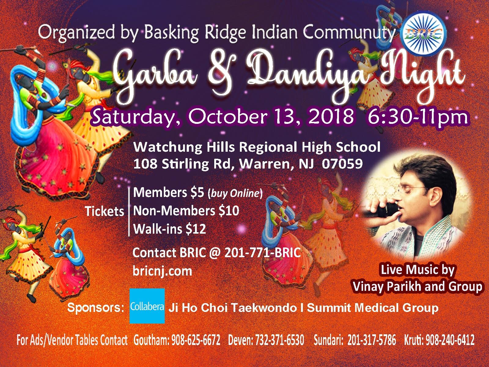 Purchase Your Dandiya 2018 Tickets Now!