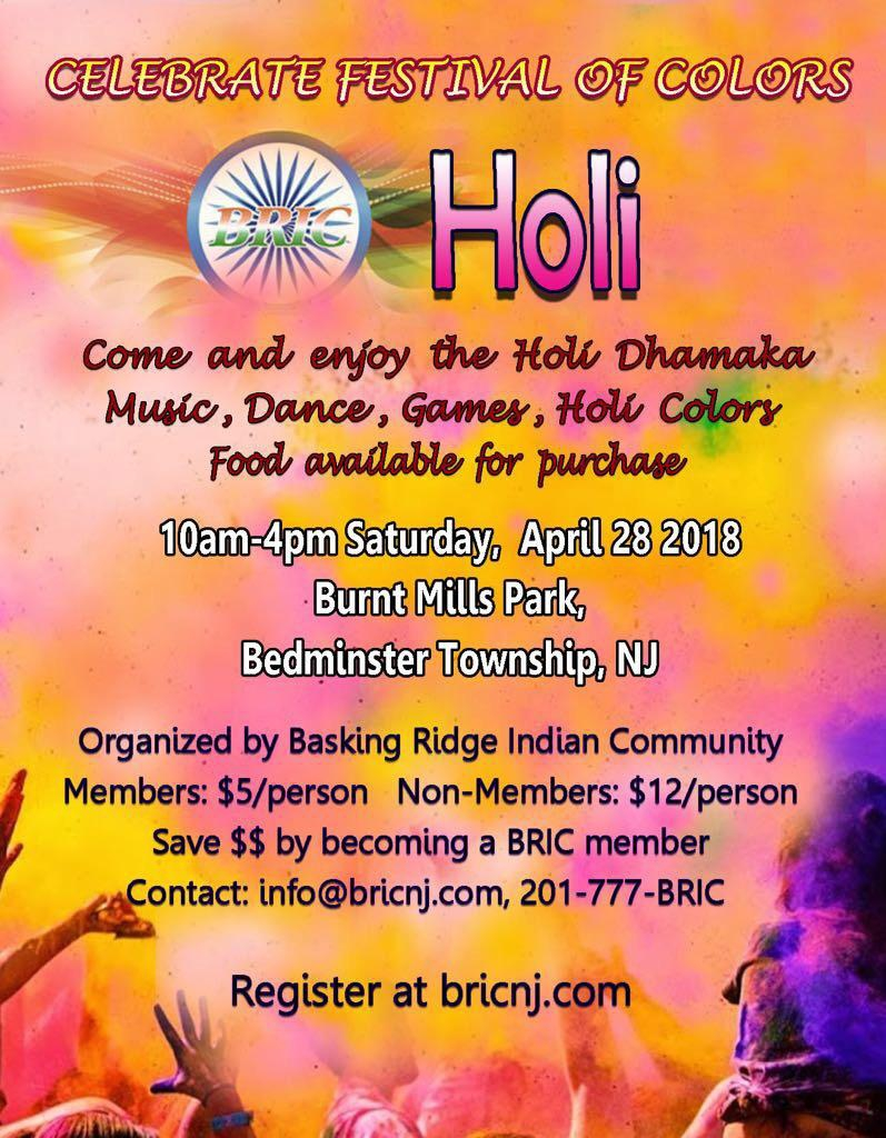 Get Your Holi Tickets